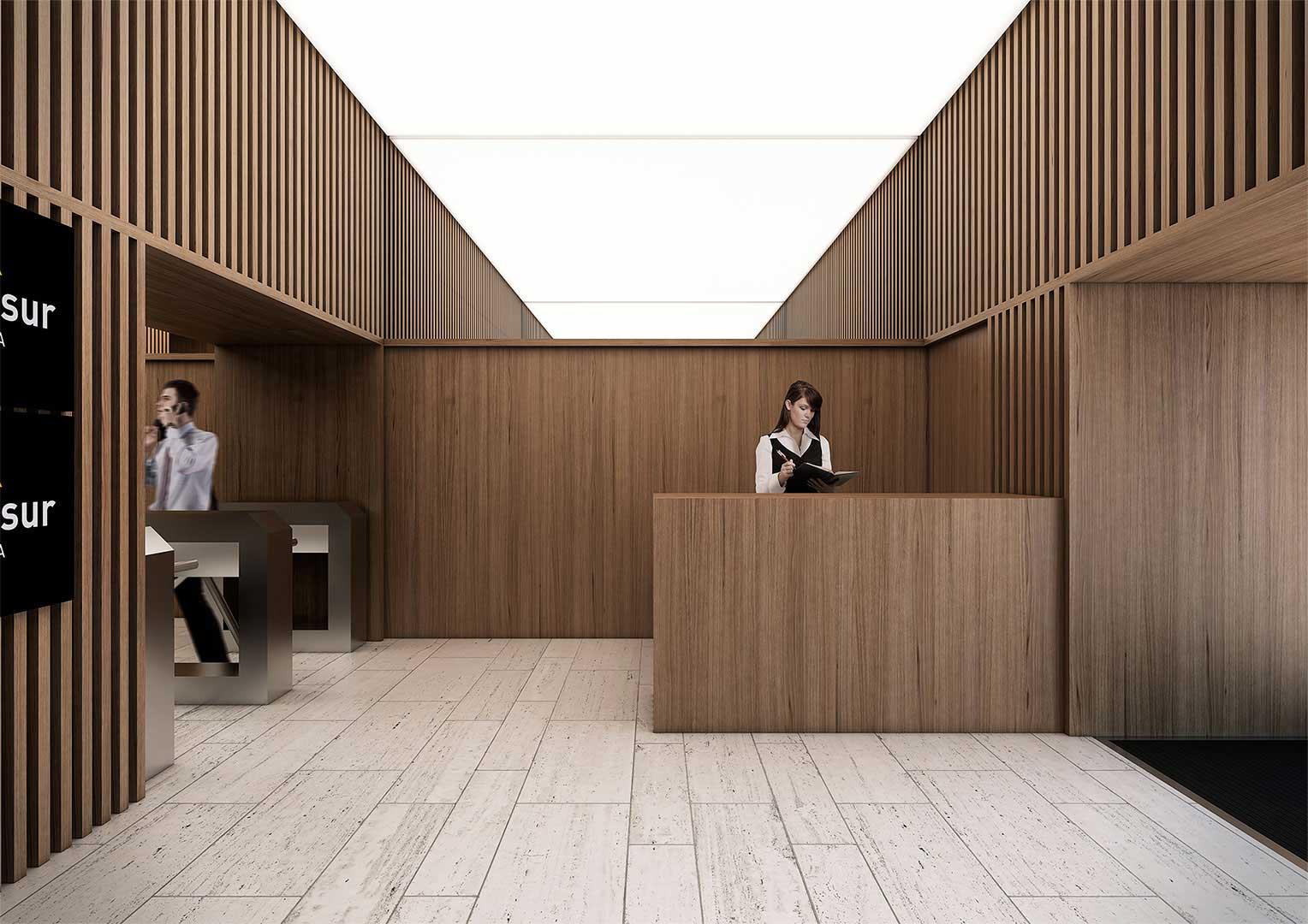 Infograf as 3d para el edificio eurocom m laga lvaro cappa for Diseno de edificios