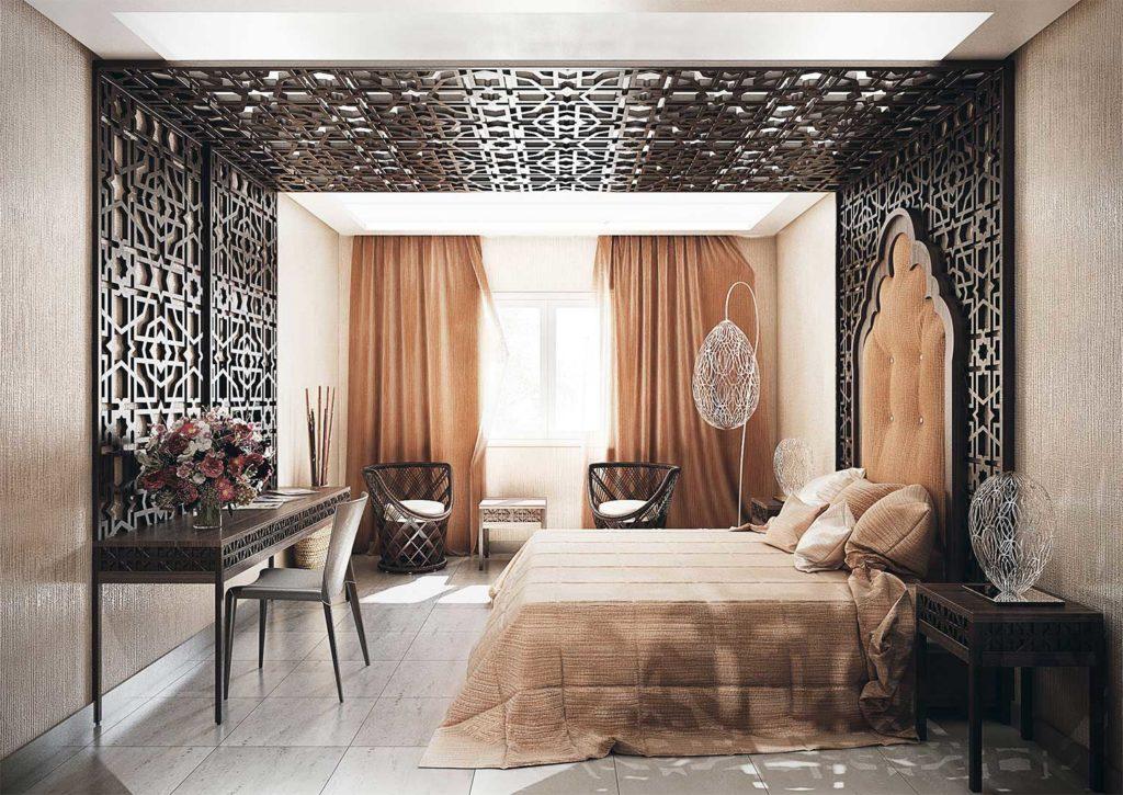Hotel Miramar - Habitación ambiente árabe