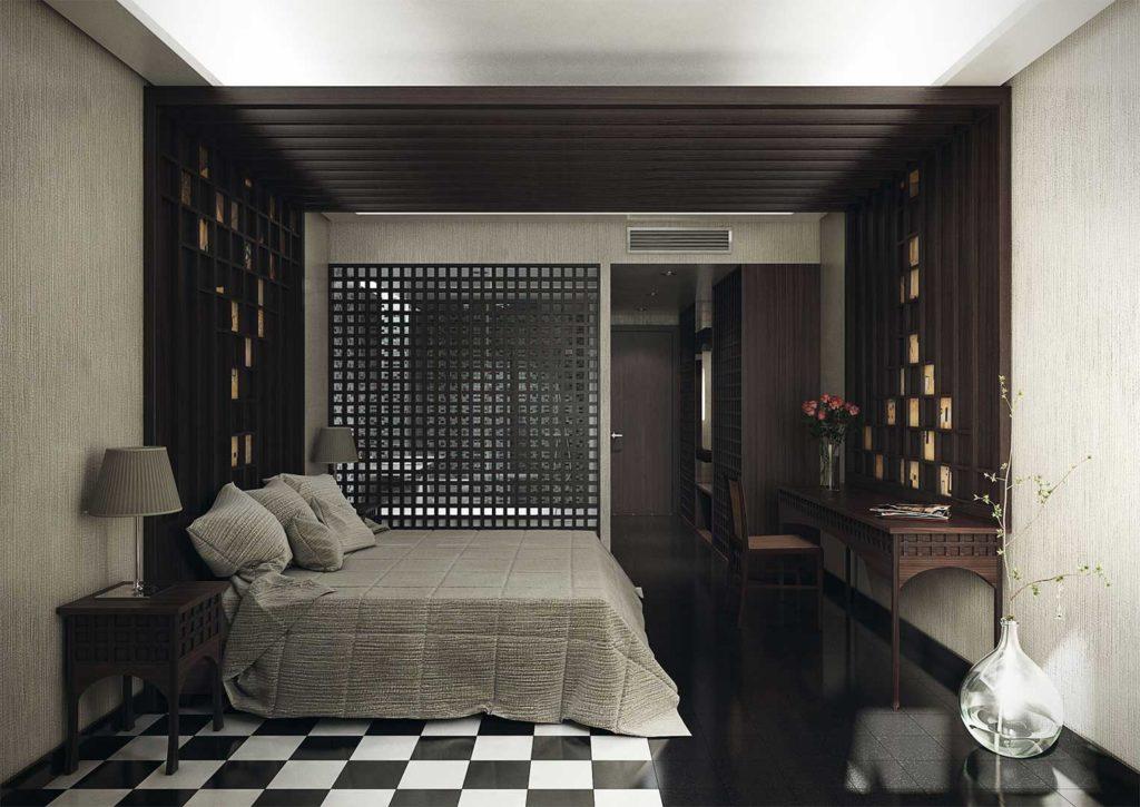 Propuestas para el dise o interior del hotel miramar for Hotel diseno malaga