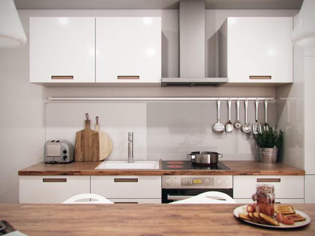 Diseño interior de cocina en Málaga