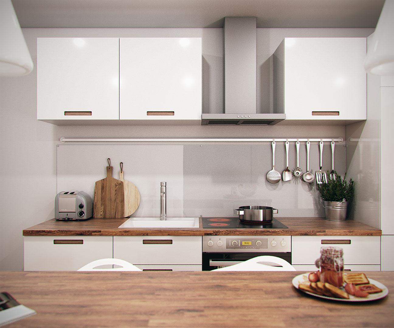 Proyectos de dise o 3d alvaro cappa m laga madrid - Diseno interiores cocinas ...
