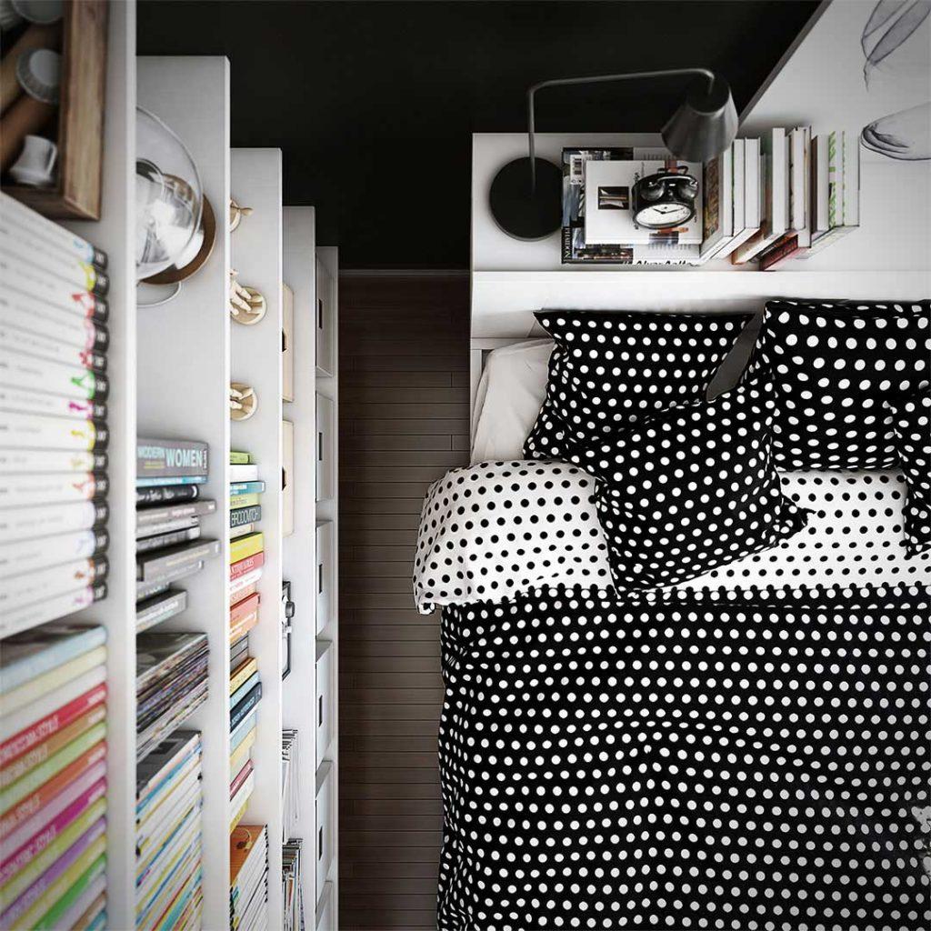 diseño de dormitorio de ikea - Álvaro cappa