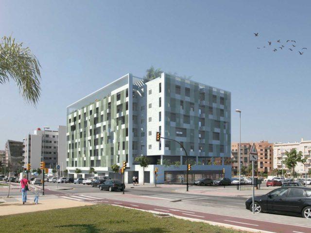 Concurso arquitectura de viviendas en Málaga
