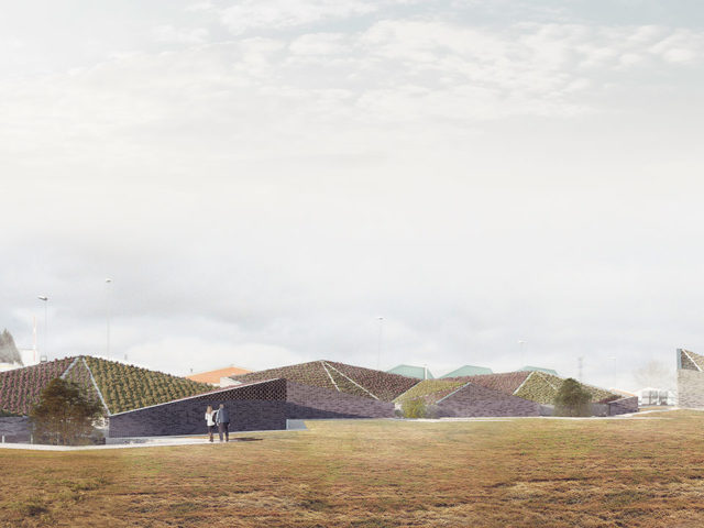 Render concurso arquitectura Madrid