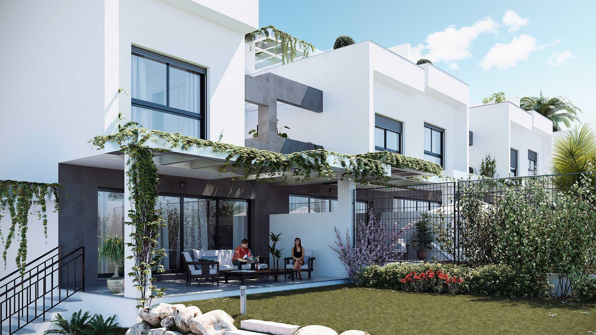 Infoarquitectura de viviendas y villa de lujo marbella for Finca villa jardin piedecuesta