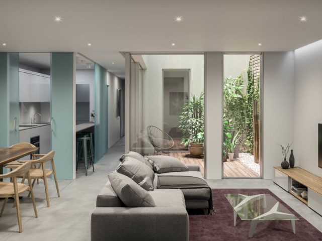 Render interior vivienda